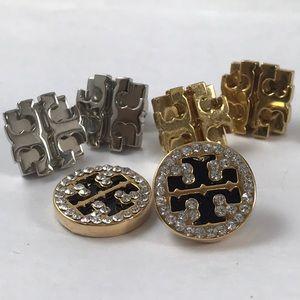 Tory Burch earrings lot - need love